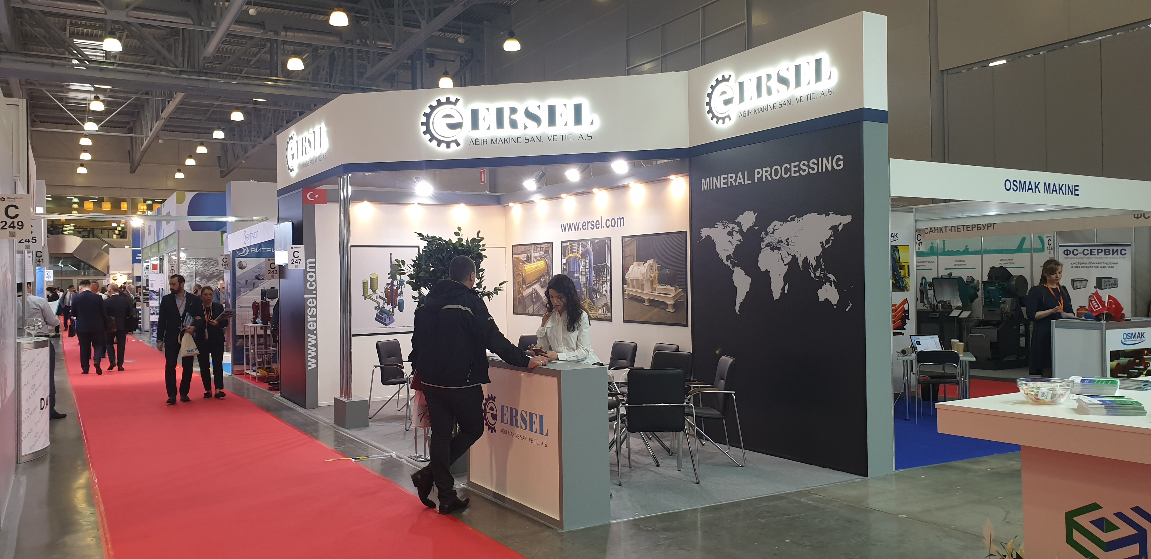 Ersel Machinery - Mining World Moscow @2019